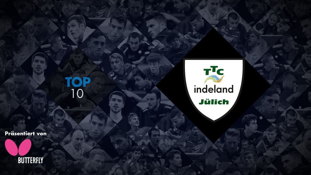 TTBL TOP 10: TTC indeland Jülich